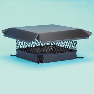 This chimney cap will prevent a blocked chimney from occurring.