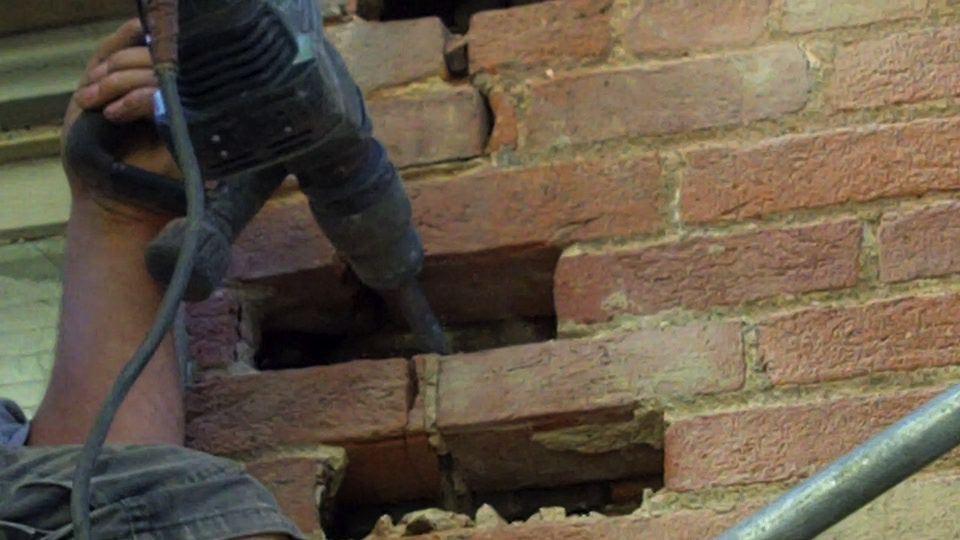 Cut And Plug Brick Replacement Ask The Chimney Sweep