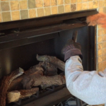 Cleaning a Direct Vent Fireplace