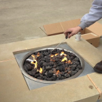 Fire Pit for a Luxury Hotel