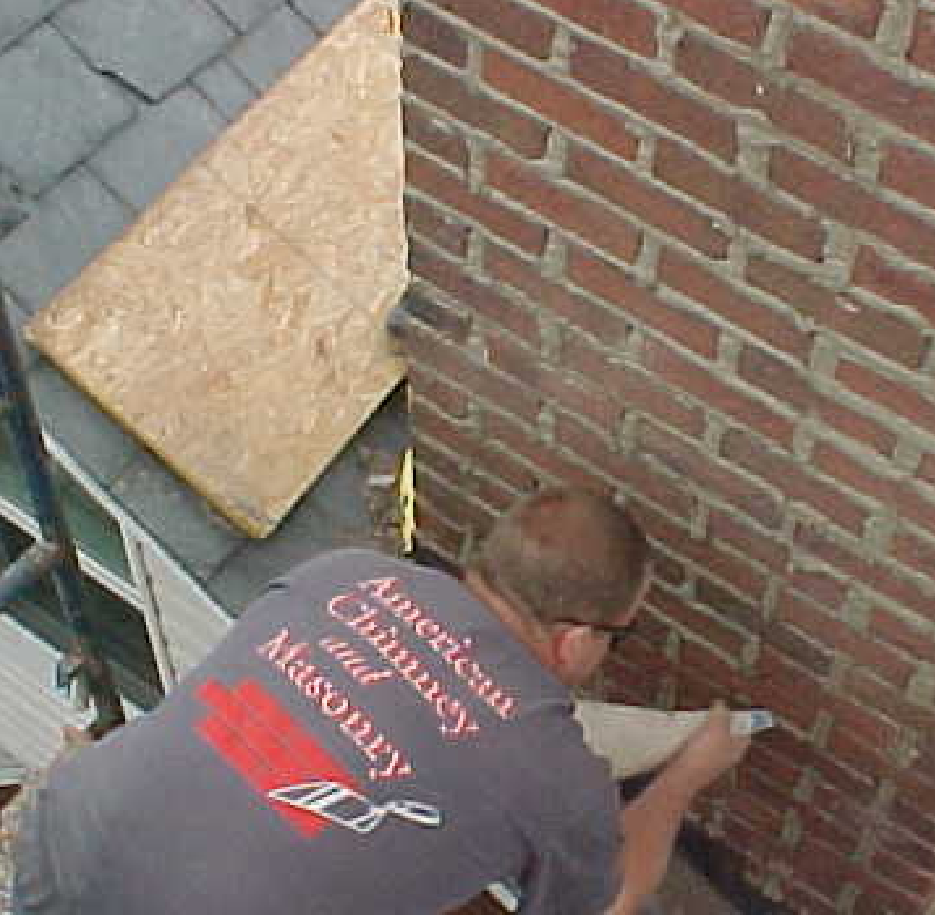 fixing a leaking chimney