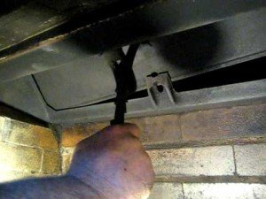 Replacing A Fireplace Damper Ask The Chimney Sweep