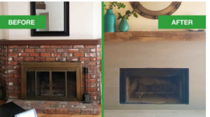 Fireplace Resurfacing